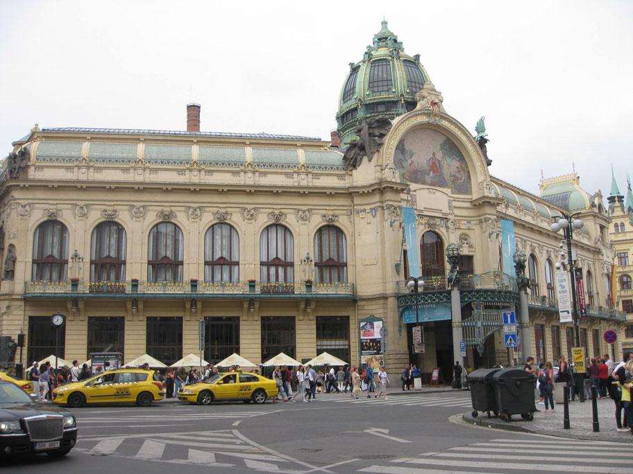 Общественный Муниципальный дом, Прага